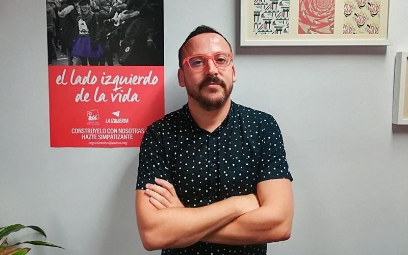 """Curro Corrales (IU Rivas): """"No hay alternativa política al gobierno municipal en Rivas"""""""