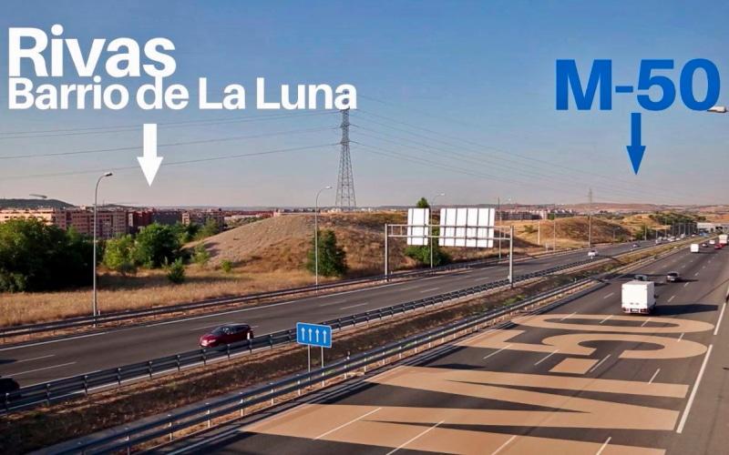 El Ayuntamiento comienza las obras que facilitarán el futuro enlace de Rivas con la M-50
