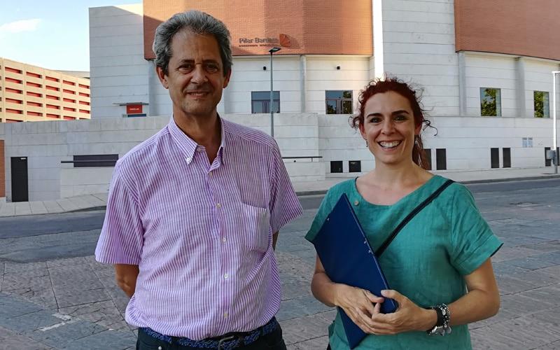"""Cristina Arévalo y Ricardo Mur (concejales no adscritos): """"Nos gustaría que Rivas fuera el primer municipio libre de plásticos"""""""
