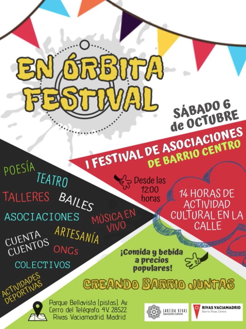 Cartel En Órbita Festival