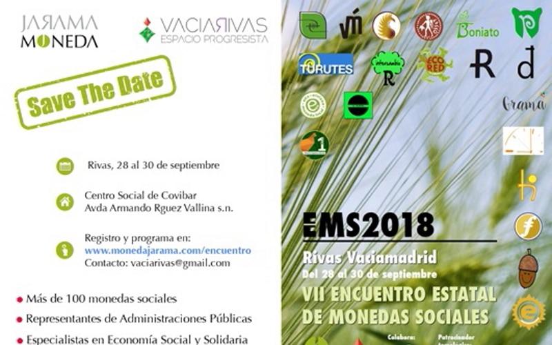 Rivas acoge el Encuentro Estatal de Monedas Sociales, que abrirá Miguel Ángel Fernández Ordóñez