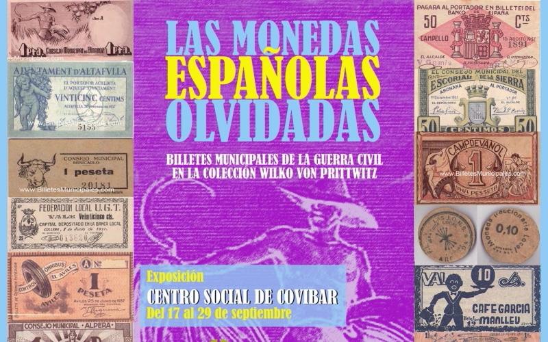 Cartel de la exposición Las Monedas Olvidadas