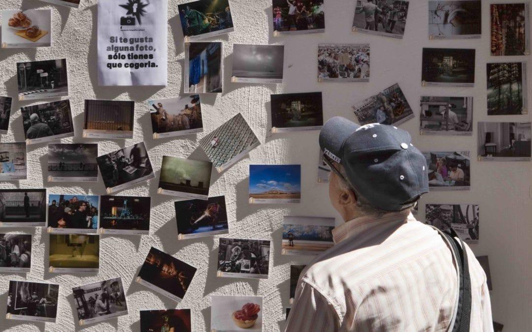 Un ciclo de exposiciones efímeras llevará el arte de la fotografía a varios rincones de Rivas