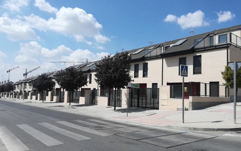 Residencial Los Robles, en el barrio de la Luna