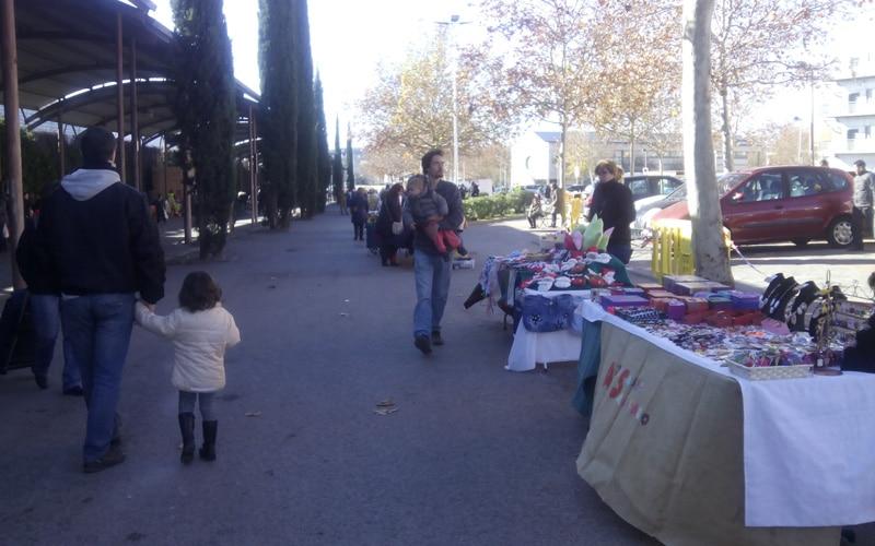 Mercado artesano y agroecológico