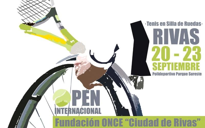 Rivas se prepara para el IV Open Internacional Fundación Once de tenis en silla de ruedas