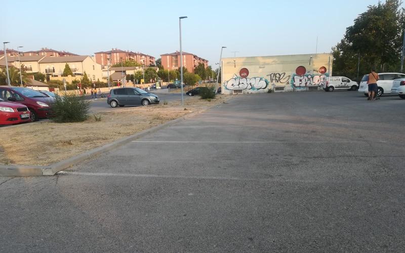 Aparcamiento del Metro de Rivas Urbanizaciones