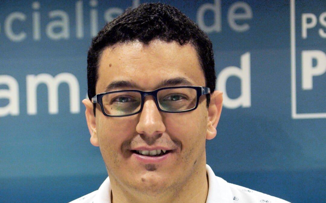 Juan Manuel Callejas, nuevo concejal socialista en Rivas