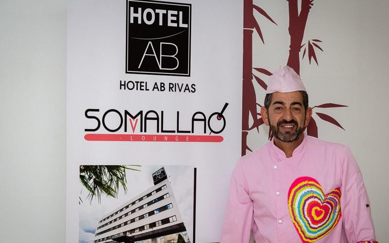 José Luis Trigo, chef del restaurante Somallao del Hotel AB Rivas