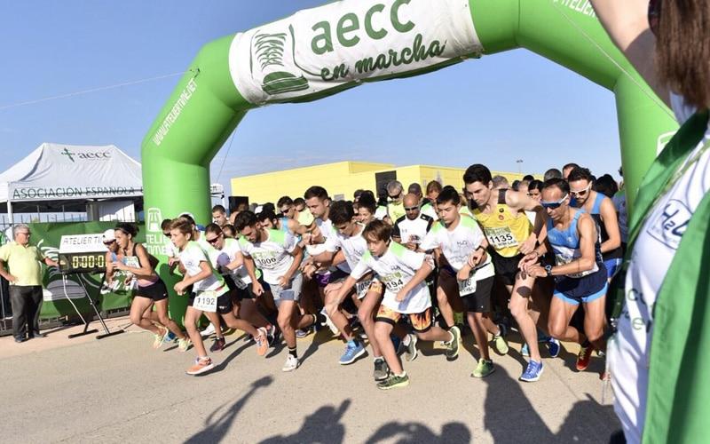 Más de 2.000 personas corrieron contra el cáncer este domingo en Rivas