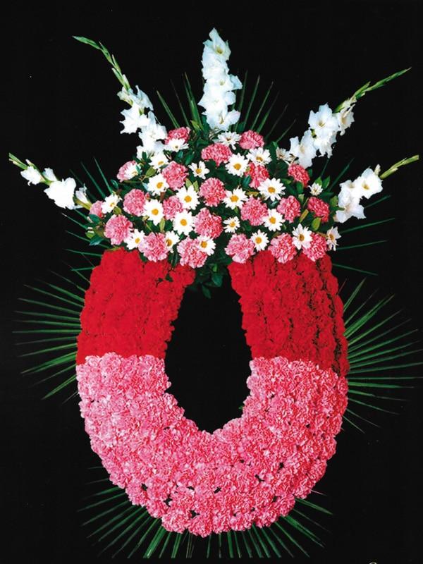Corona de flores Tanatorio Funeraria Rivas