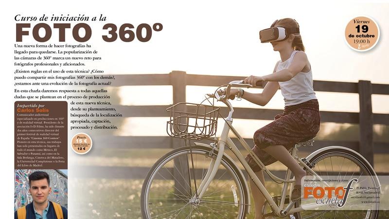 Este viernes, aprende los secretos de la fotografía en 360º en Foto F
