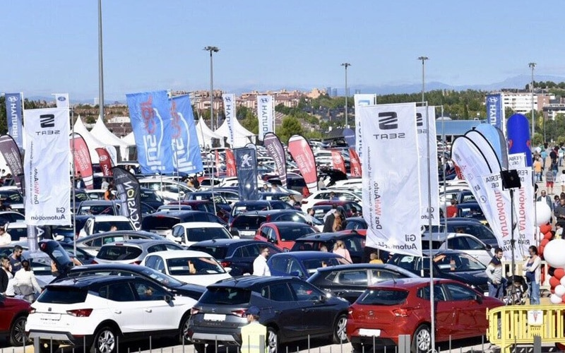 4ª Feria del Automóvil de Rivas: cientos de coches 'invaden' hasta el domingo el recinto ferial Miguel Ríos