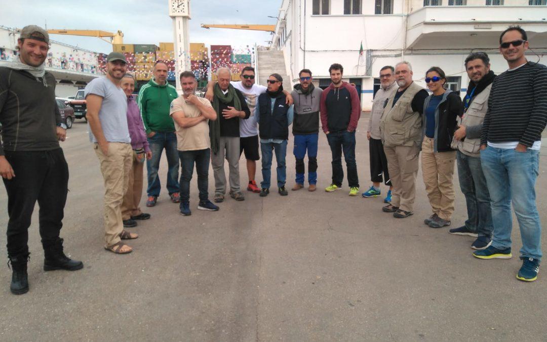 La caravana solidaria de Rivas Sahel retoma su ruta tras 72 horas retenidos