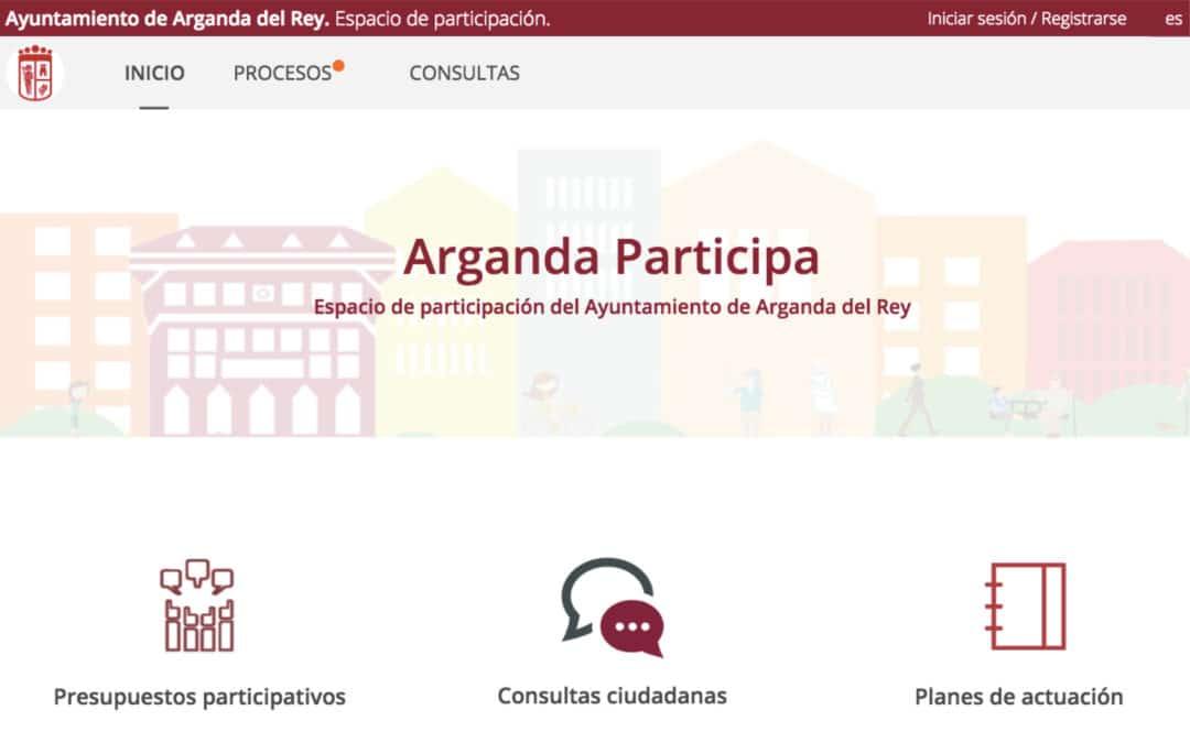 Arganda abre el plazo para presentar propuestas para los Presupuestos Participativos