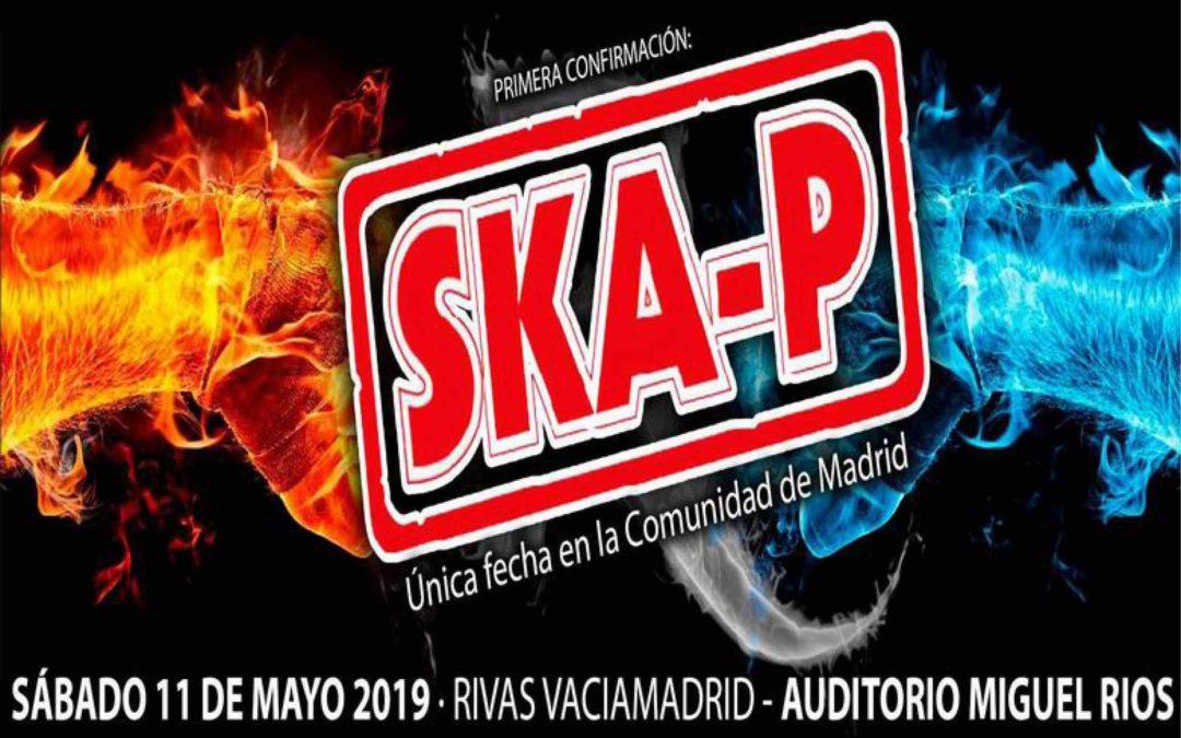 Ska-P actuará en el Rivas Rock 2019