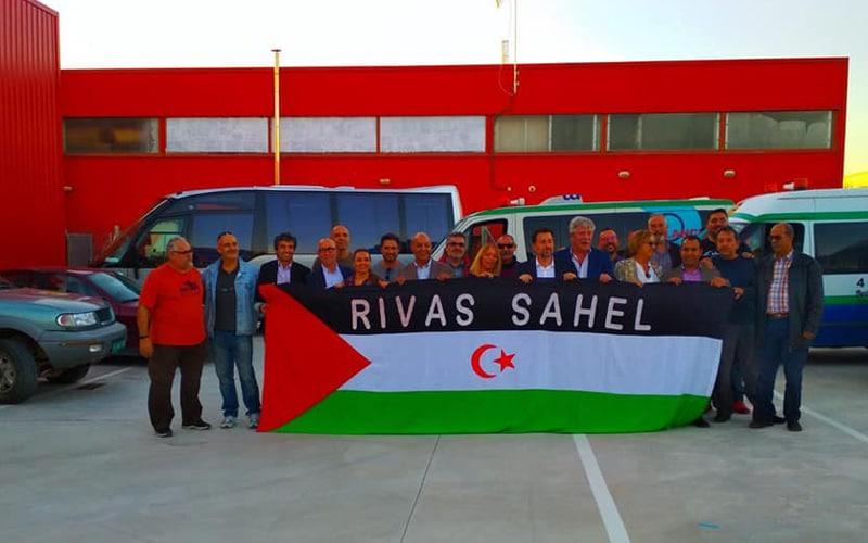 Retenidos en Argelia los miembros de la Caravana Solidaria 4X4 Madrid-Tifariti, entre ellos representantes de Rivas Sahel