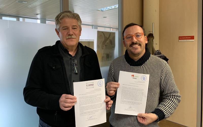 Los grupos municipales Somos Rivas y Rivas Puede cambian de nombre a 'Izquierda Unida-Equo' y 'Podemos'