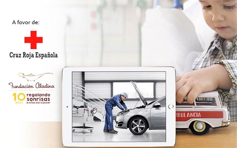 Revisa tu Peugeot en Iluscar Rivas y ayuda a miles de niños y niñas hospitalizados