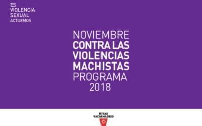 Noviembre contra las violencias machistas: actividades y talleres para visibilizar las agresiones contra las mujeres en Rivas