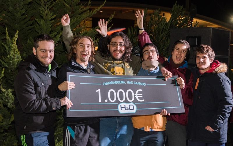 Ganadores del concurso de desentierros H2O 2018