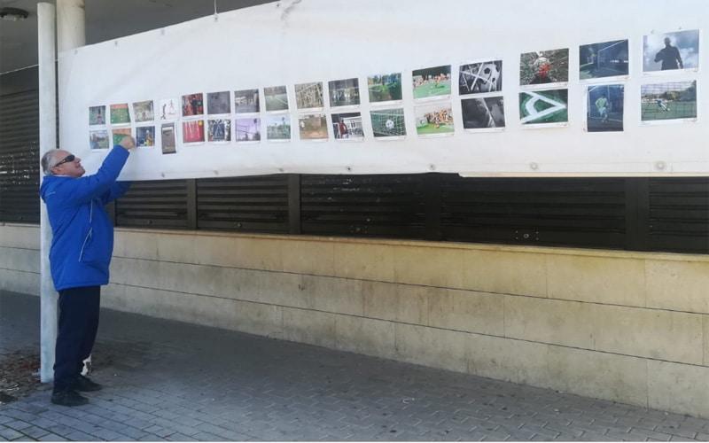 Exposición efímera de fotografía de Foto Efe