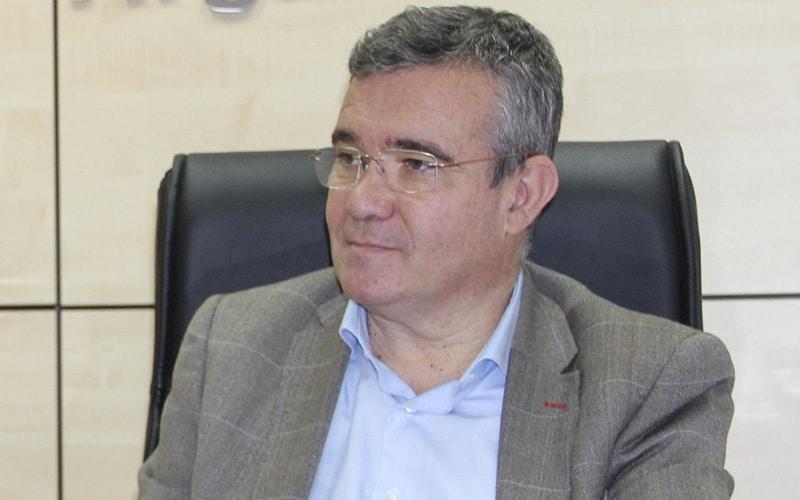 """Guillermo Hita, alcalde de Arganda: """"Si se demora la plataforma logística, habrá que hablar con Fomento para el tercer carril de la A-3"""""""