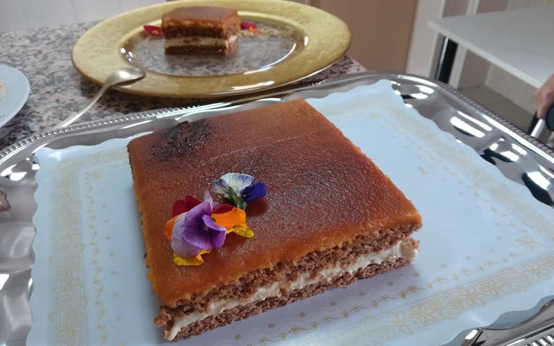 La tarta de palodulce, hinojo y calabaza, de La Huella Vegana, gana el concurso gastronómico de 'elaboración representativa' de Rivas