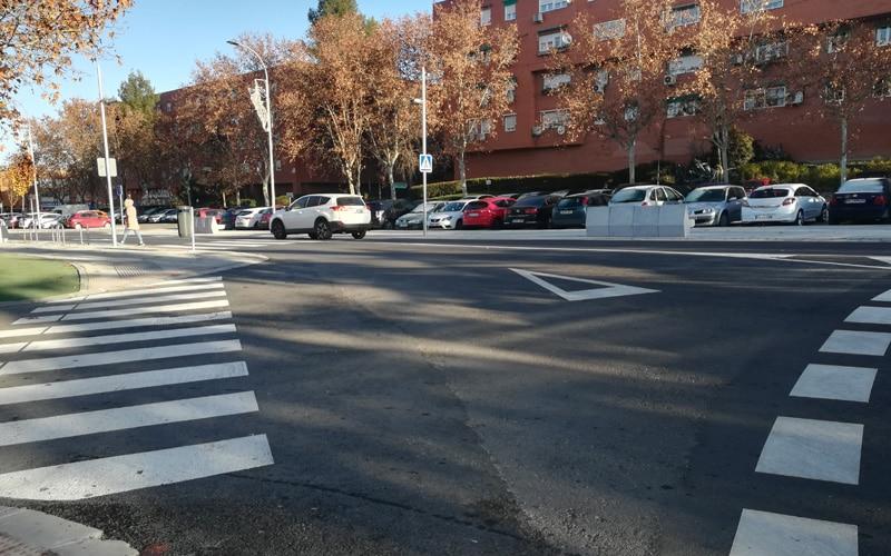 Se han perdido algunas plazas de aparcamiento entre las dos rotondas