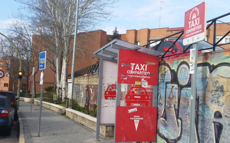 Rivas planea retomar el taxi compartido tras la nueva regulación del sector