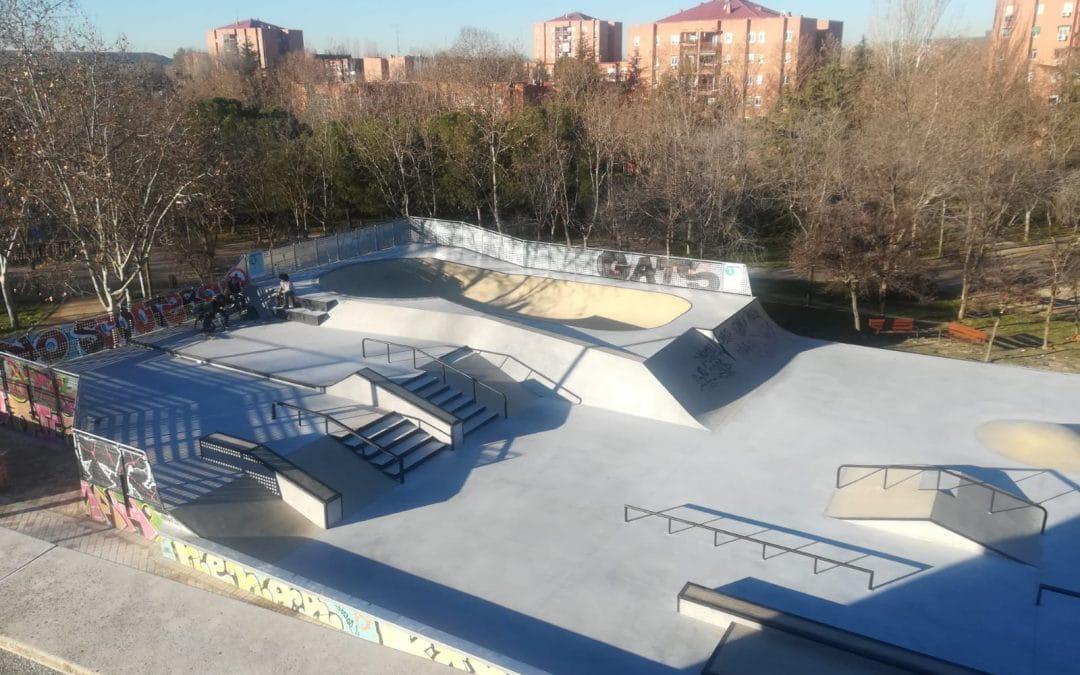 Así se diseñó el nuevo 'skate park' del Parque de Asturias de Rivas