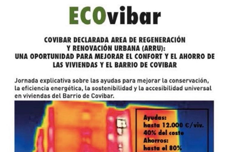 Ayudas para obras de mejora en edificios de Covibar: este jueves, jornada para resolver dudas