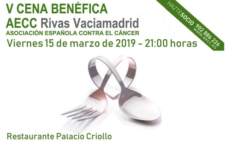 La Asociación Española Contra el Cáncer (AECC) de Rivas agota todas las entradas de su V Cena Solidaria