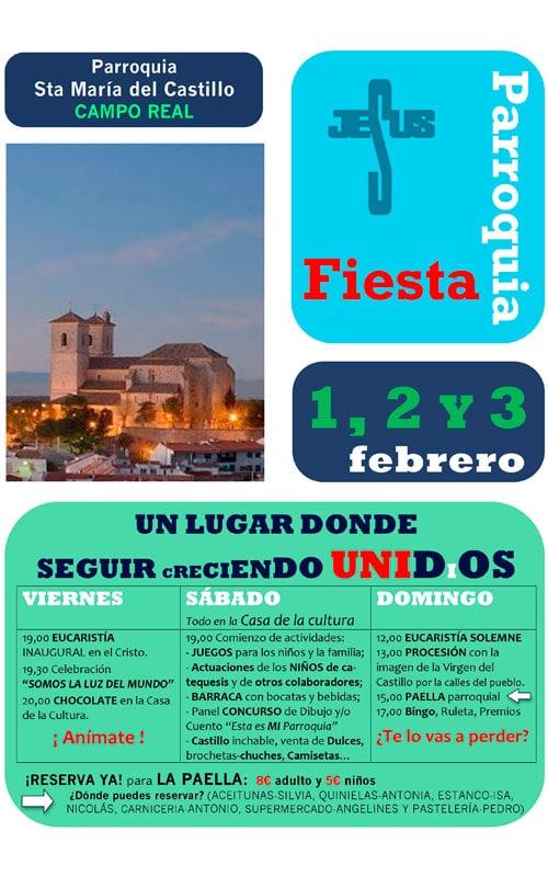 Fiesta de la parroquia Camporeal