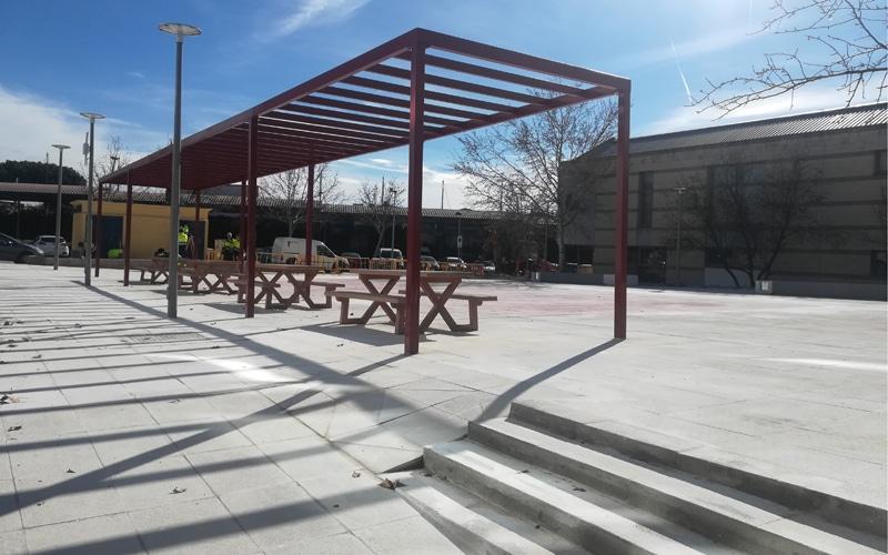 Una nueva 'plaza' entre Correos y el Ayuntamiento de Rivas