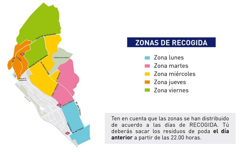 Rivamadrid reorganiza la recogida de muebles y enseres: un día a la semana en cada barrio