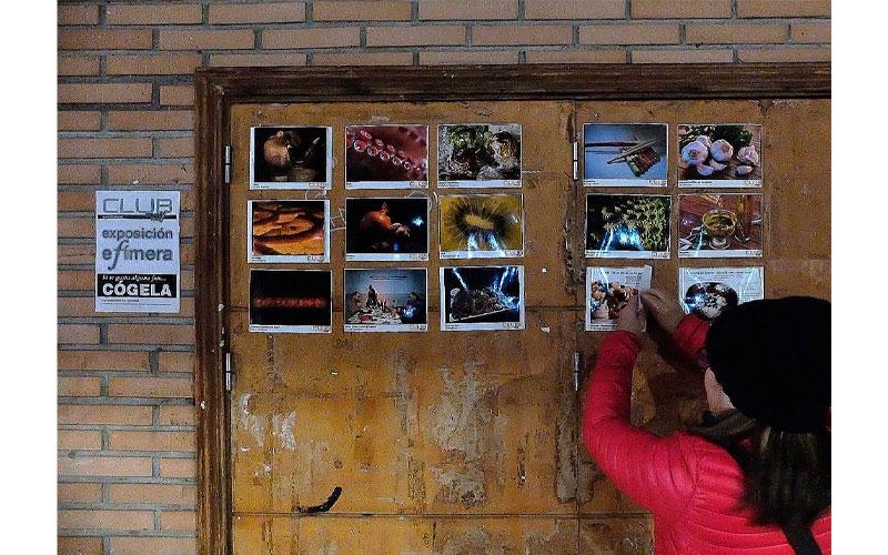 V Exposición efímera Escuela Foto F
