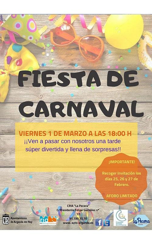 Fiesta de Carnaval 2019 en Arganda