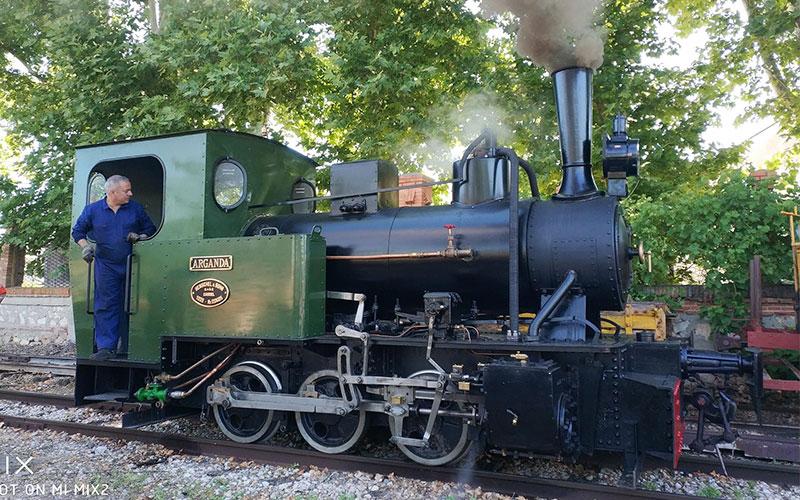 El Tren de Arganda regresa por primavera y celebra una jornada de puertas abiertas