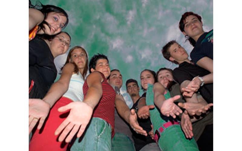 Jóvenes. (Foto: Ayuntamiento de Rivas)