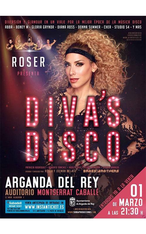 Cartel Divas's Disco. Roser.