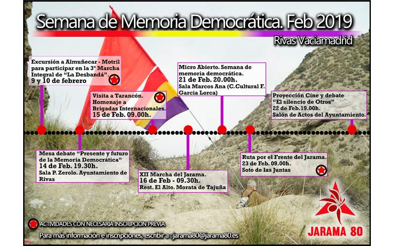 I Semana de Memória Democrática