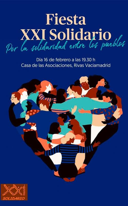 Cartel Fiesta XXI Solidario