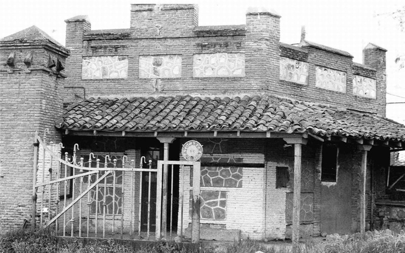 Imagen de la casita del guardia de la Azucarera