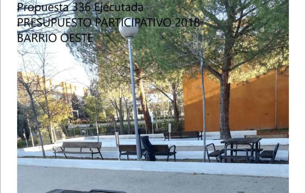 Presupuesto participativo de Rivas 2018: ocho decisiones cumplidas y cuatro aún por ejecutar