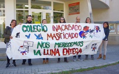 Cientos de firmas para pedir a la Comunidad que termine de construir el CEIPSO La Luna