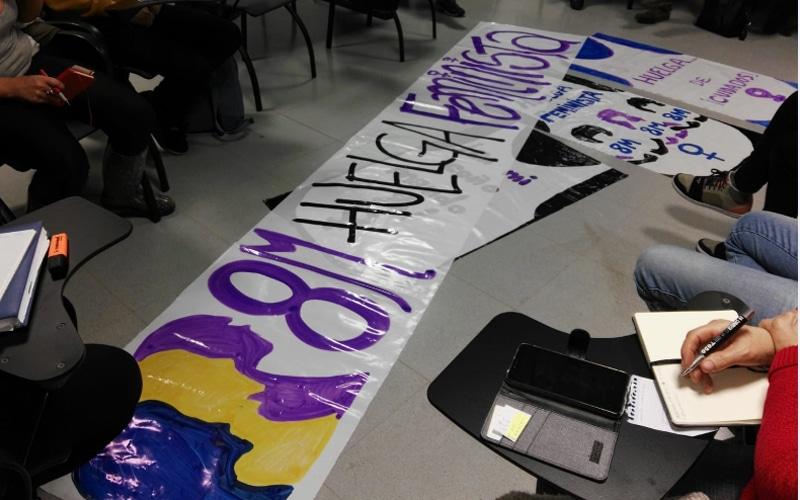 Rivas se prepara para la huelga feminista del 8-M 2019