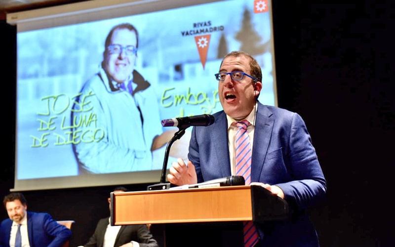 José de Luna, embajador de Rivas Vaciamadrid: vídeo homenaje
