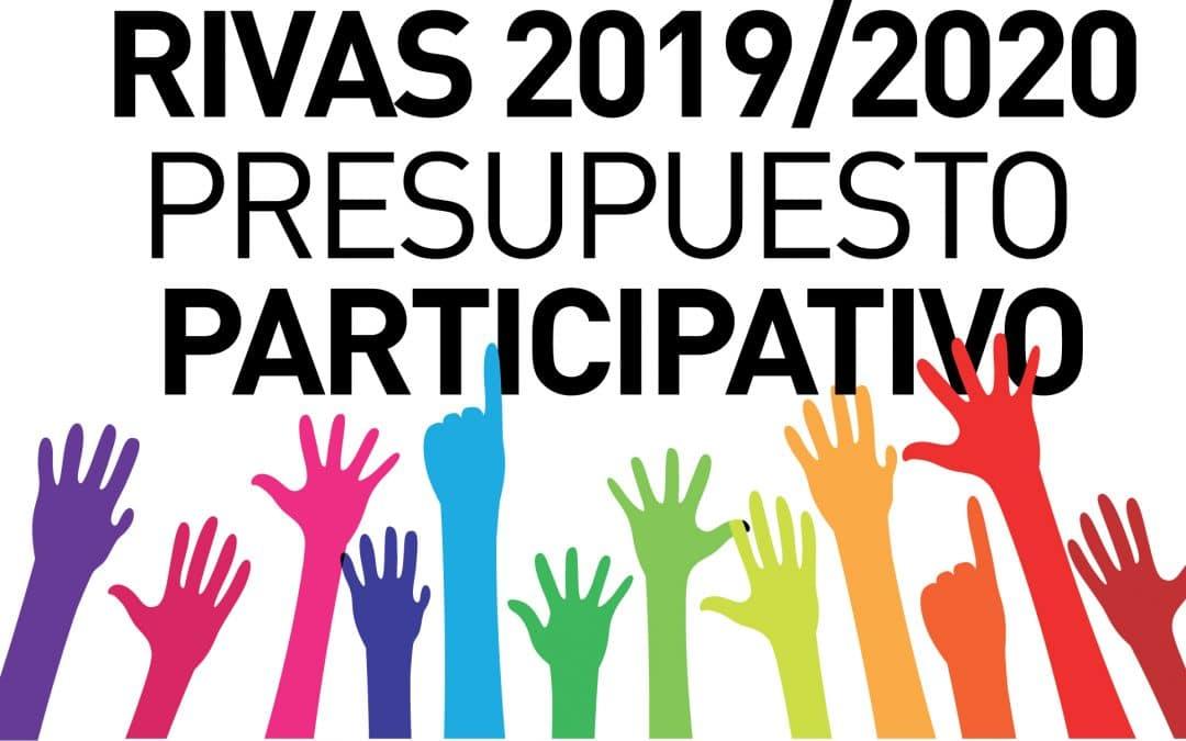 Las votaciones de los Presupuestos Participativos de Rivas 2019-2020, a partir de este miércoles