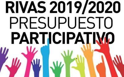 Rivas abre el plazo de presentación de propuestas para los presupuestos participativos 2019-2020